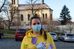 Dobrovolnice s obrázky do nemocnice NA Pleši
