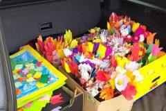 Tulipány připraveno k odvozu