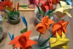 Tulipánový měsíc - Papírové tulipány pro Pleš