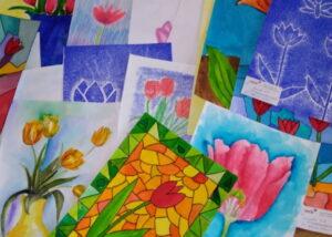 Tulipány od dětí - Liberec