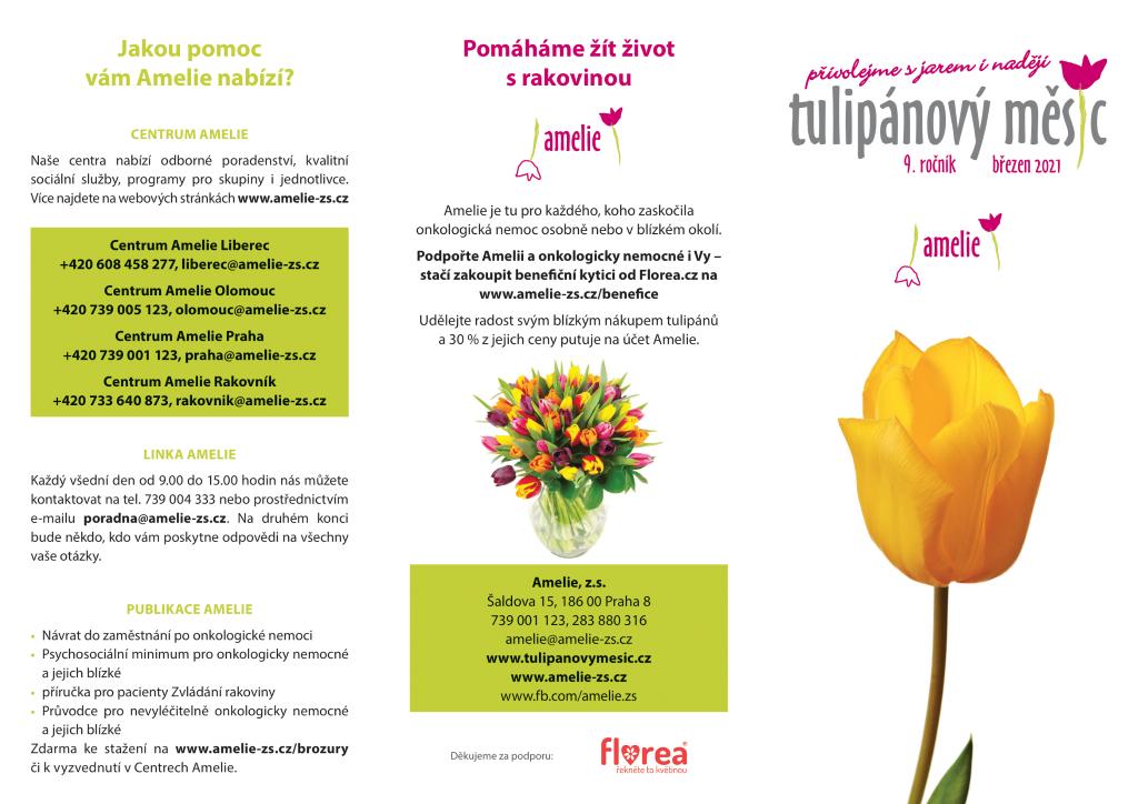 Leták tulipánového měsíce