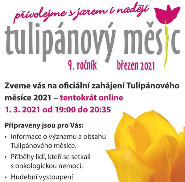 Zahájení Tulipánového měsíce 2021