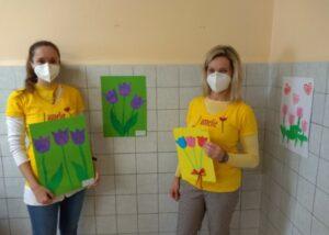 VFN dermatovenerologie - výzdoba dobrovolníky