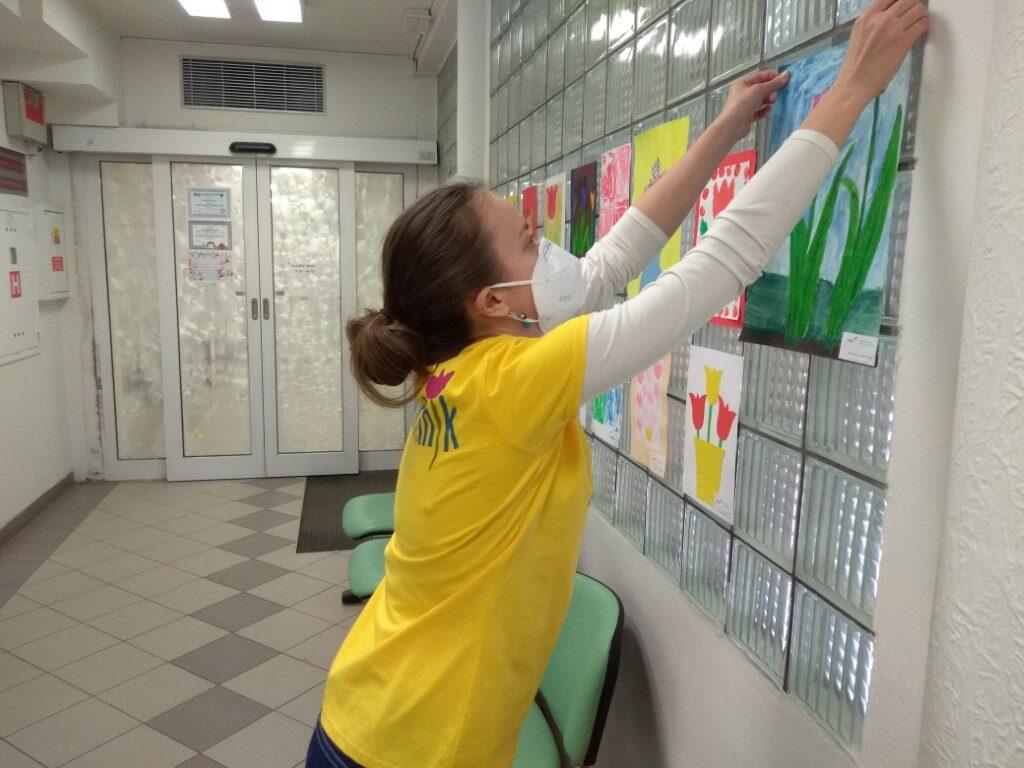 Výzdoba VFN dobrovolníky Amelie