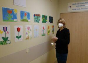 Výzdoba nemocnice Prostějov