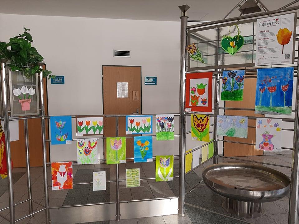 Výzdoba nemocnice v Jablonci